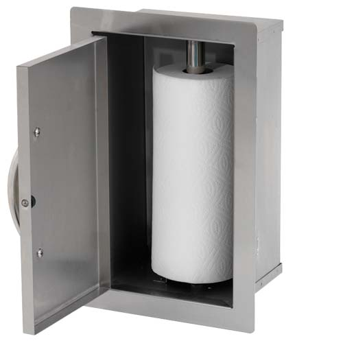 Cal Flame - PAPER TOWEL STORAGE DOOR - BBQ07910 Paper Towel Storage Default Title Cal Flame Gray