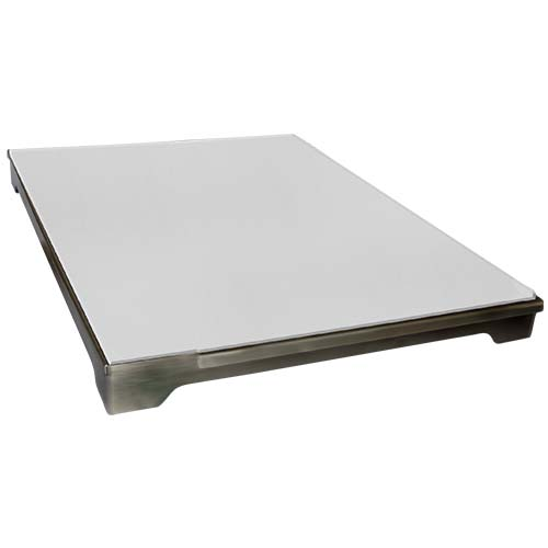 Cal Flame - Pizza Brick Tray - BBQ07900 Pizza Tray Default Title Cal Flame Light Gray