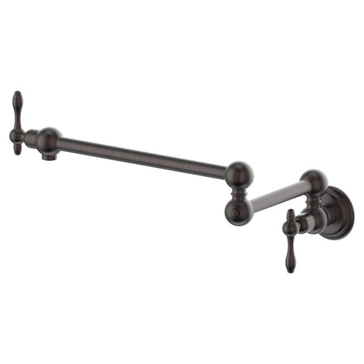 ZLINE - REMBRANDT POT FILLER IN OIL-RUBBED BRONZE (REM-FPF-ORB) Pot Filler Default Title Zline Dim Gray