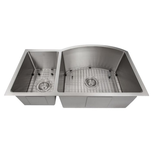 ZLINE - ASPEN 33 INCH UNDERMOUNT DOUBLE BOWL SINK IN STAINLESS STEEL (SC30D-33) Sinks Default Title Zline Dark Gray
