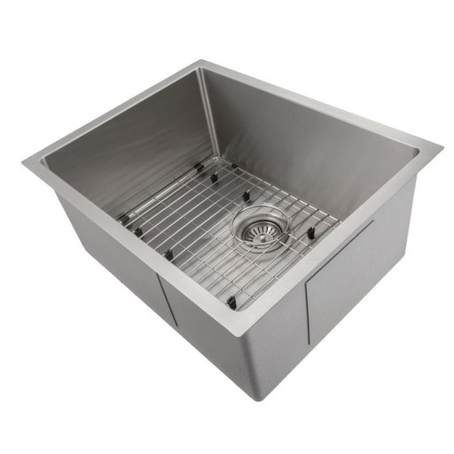 ZLINE - MERIBEL 23 INCH UNDERMOUNT SINGLE BOWL SINK IN STAINLESS STEEL (SRS-23) Sinks Default Title Zline Dim Gray