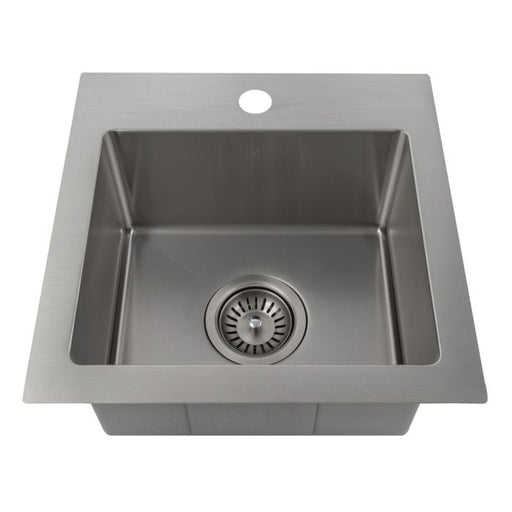ZLINE - DONNER 15 INCH TOPMOUNT SINGLE BOWL BAR SINK IN STAINLESS STEEL (STS-15) Sinks Default Title Zline Dark Slate Gray