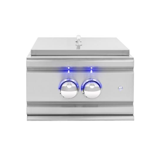 Summerset Grills -  TRLPB - TRL Power Burner w/ LED Illumination Side Burner Natural Gas,Propane Summerset Grills Gray