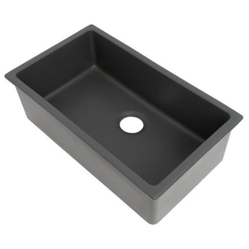ZLINE - ROME DUAL MOUNT FIRECLAY SINK IN CHARCOAL (FRC5124-CL-30) Sinks Default Title Zline Dark Slate Gray