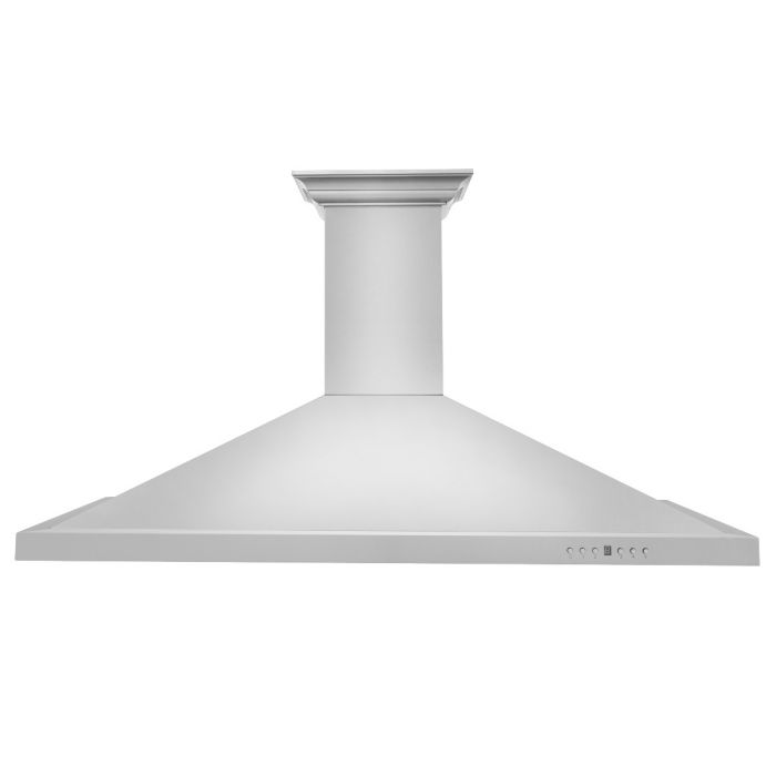 ZLINE - 42 IN. WALL MOUNT RANGE HOOD IN STAINLESS STEEL WITH BUILT-IN CROWNSOUND® BLUETOOTH SPEAKERS - KBCRN-BT-42 Range Hoods Default Title Zline Light Gray