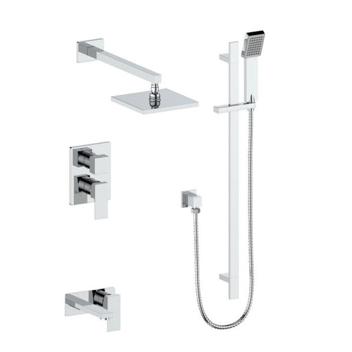 ZLINE - BLISS SHOWER SYSTEM IN CHROME (BLS-SHS-CH) Shower Systems Default Title Zline Lavender