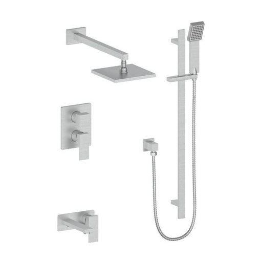 ZLINE - BLISS SHOWER SYSTEM IN BRUSHED NICKEL (BLS-SHS-BN) Shower Systems Default Title Zline Gray