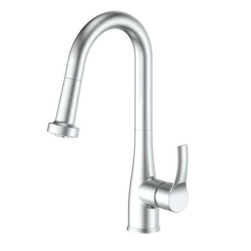 ZLINE - DALI KITCHEN FAUCET IN BRUSHED NICKEL (DAL-KF-BN) Kitchen Faucets Default Title Zline White Smoke