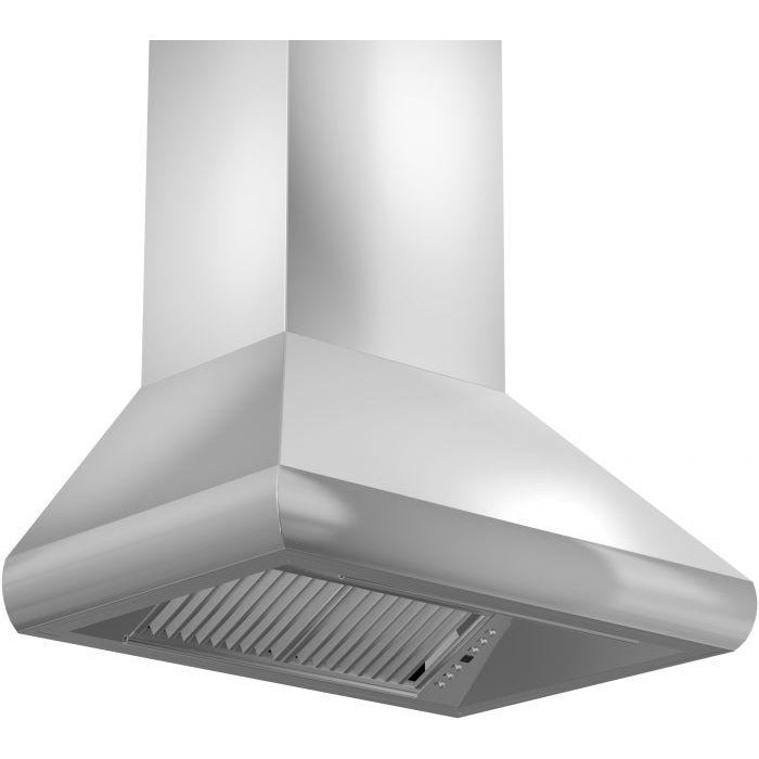 "ZLINE - 30"" PROFESSIONAL SERIES WALL RANGE HOOD - 687-30 Range Hoods Default Title Zline Light Gray"