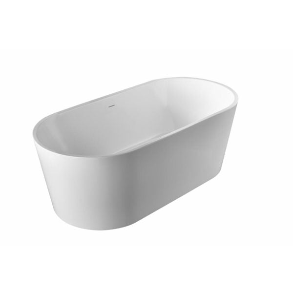 Pulse - Polished White Acrylic Freestanding Tubs 1003 Freestanding Bathtub Chrome,Brushed Nickel,150-Chrome,150-Brushed Nickel PULSE ShowerSpas Gray