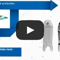 GM 606 Keepers Pads , Wicket Keepers Pads - Gunn & Moore, First Choice Cricket - 2