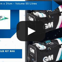 GM 606 Wheelie Kit Bag , Kit Bag - Gunn & Moore, First Choice Cricket - 2