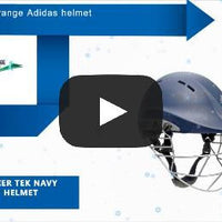 Adidas Premier Tek Navy Titanium Helmet , Batting Helmet - Adidas, First Choice Cricket - 2