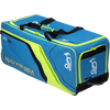 Kookaburra Pro 800 Wheelie Blue/Yellow Kit Bag