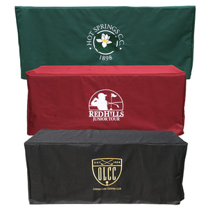 Table Cover with Embroidered Logo