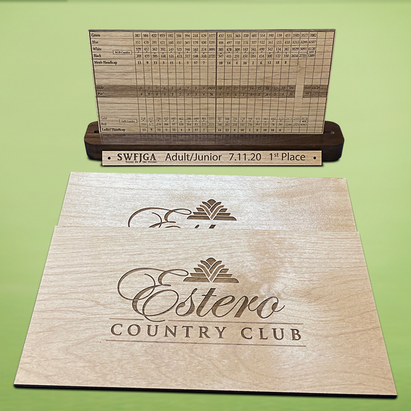 Wooden Hole-in-One Plaque