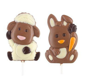 Easter Chocolate Lollipops - www.chocolateorders.com