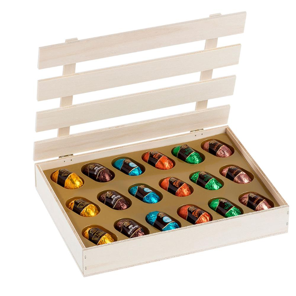 Liquor Crate Box - www.chocolateorders.com