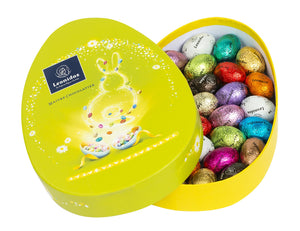 Easter Egg-Shaped Box with 28 eggs - www.chocolateorders.com