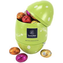 Load image into Gallery viewer, ***Best Seller***    Egg-Shaped Easter Tin - www.chocolateorders.com