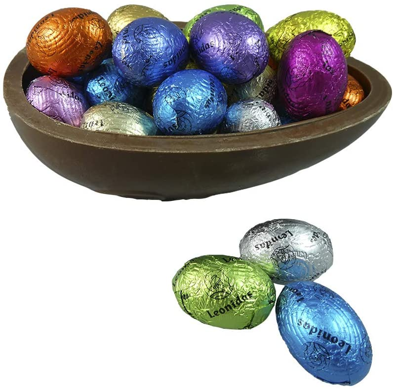 **Top Seller** Easter Chocolate Half Egg with mini Eggs - www.chocolateorders.com