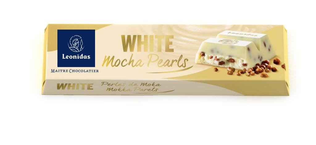 White Mocha Pearls Bar - www.chocolateorders.com
