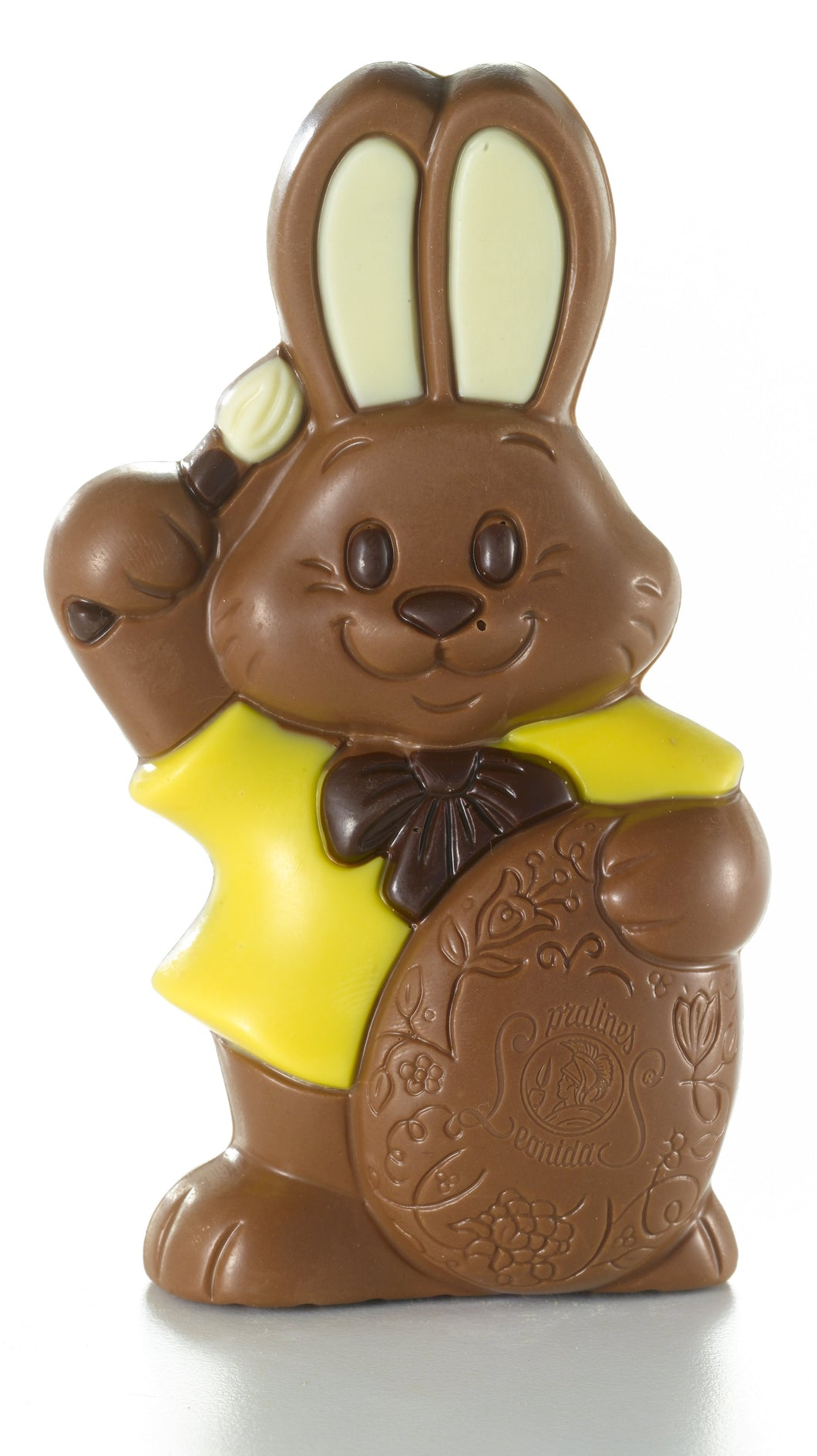 Easter Bunny + 4 Mini Eggs - www.chocolateorders.com