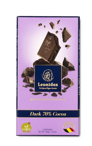 70% Dark Chocolate Tablet - www.chocolateorders.com