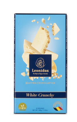 White Crunchy Tablet - www.chocolateorders.com