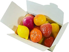 画像をギャラリービューアに読み込む, MARZIPAN Fruits Ballotin Box by weight - www.chocolateorders.com