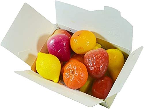 MARZIPAN Fruits Ballotin Box by weight - www.chocolateorders.com