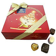 Load image into Gallery viewer, Christmas Red Festive Square Box L - www.chocolateorders.com