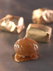Candied Chesnut (Marron Glace) Box of 8 pieces - www.chocolateorders.com - Leonidas Brighton