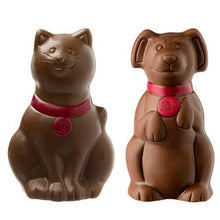 Load image into Gallery viewer, Cat or Dog Milk Chocolate Figure 50g.