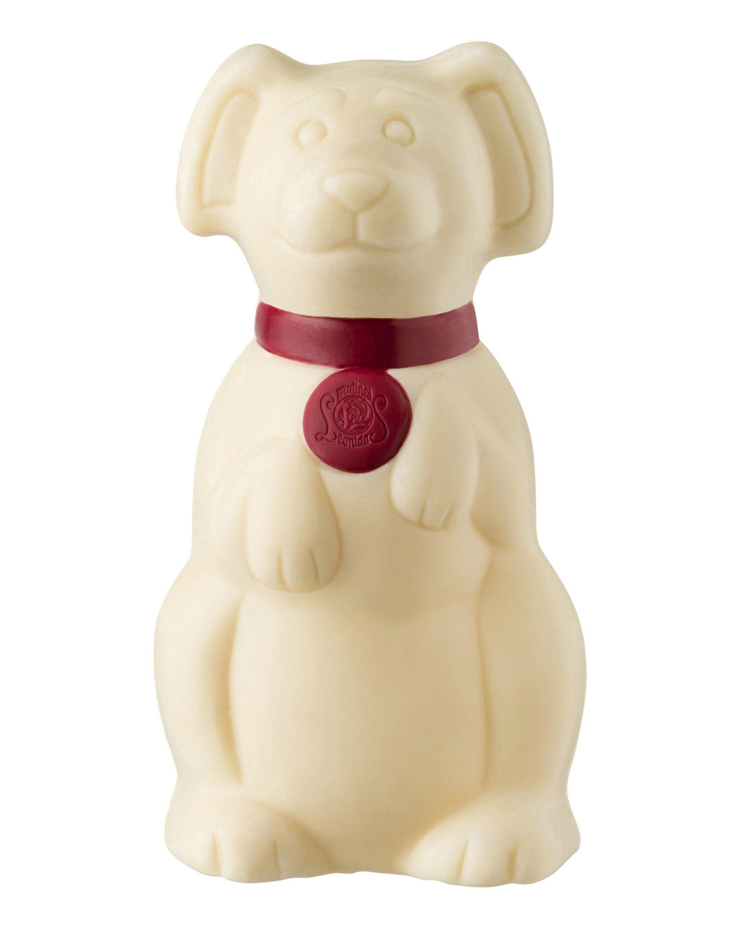 Cat or Dog White Chocolate Figure 50g. - www.chocolateorders.com