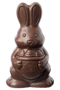 Extra Large Easter Chocolate Bunny 400g. - www.chocolateorders.com