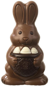 Easter Chocolate Rabbit Large Milk/White - www.chocolateorders.com