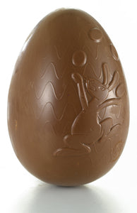 Easter Chocolate Egg Juggler Bunny - www.chocolateorders.com
