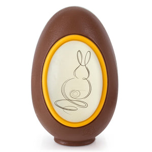 Easter Chocolate Egg Premium Dark/Milk - www.chocolateorders.com