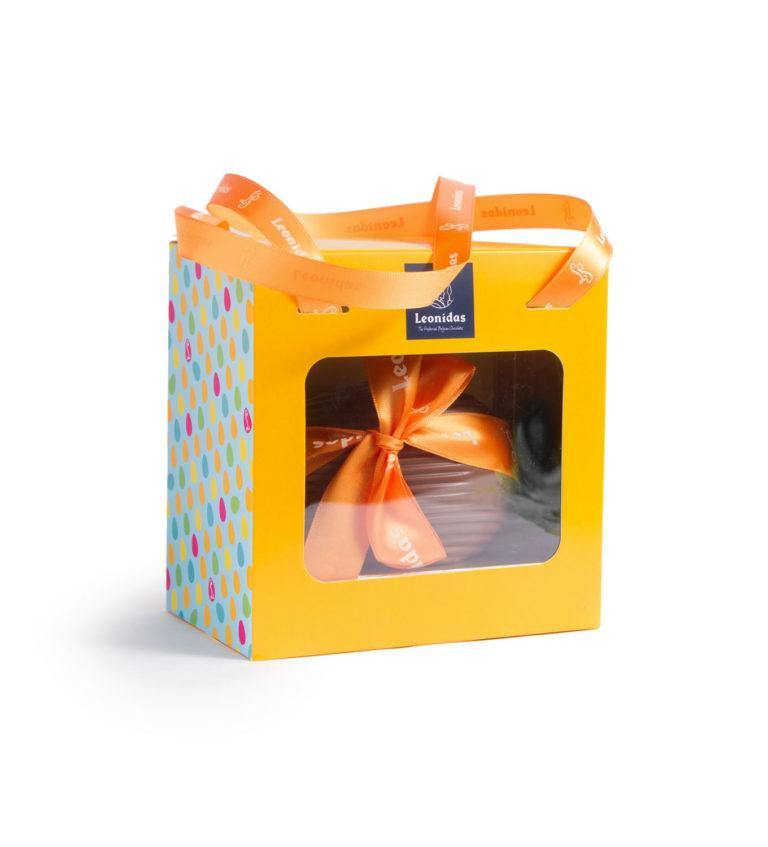 Size 2 - Chocolate Egg in Gift Box with Mini Eggs - www.chocolateorders.com