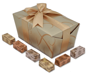 Leonidas GIANDUJA - GIAMANDA - GIANTINA Ballotin Box by weight - www.chocolateorders.com