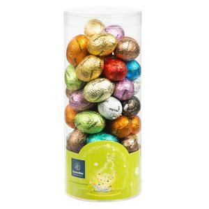 50 Mini Easter Eggs in Cylinder - www.chocolateorders.com - Leonidas Brighton
