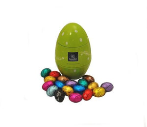 ***Best Seller***    Egg-Shaped Easter Tin - www.chocolateorders.com