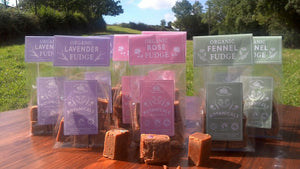 Organic Fudge with different flavours 150g. - www.chocolateorders.com