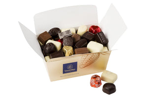 Assortment Chocolates Ballotin Box by weight - www.chocolateorders.com - Leonidas Brighton