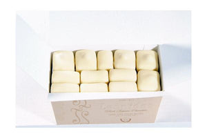 Leonidas MANON White Ballotin Box by weight / Fresh Butter Cream - www.chocolateorders.com