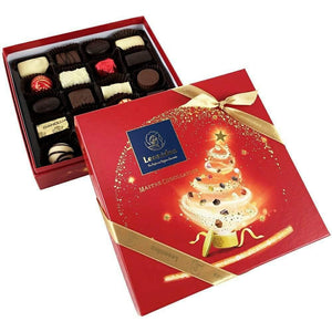 Christmas Red Festive Square Box M