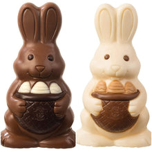 Load image into Gallery viewer, Easter Chocolate Rabbit Large Milk/White - www.chocolateorders.com