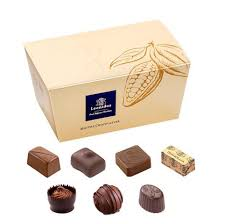 MILK Chocolates Ballotin Box by weight - www.chocolateorders.com