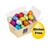 Load image into Gallery viewer, GLUTEN FREE Mini Easter Eggs in Ballotin Box by weight - www.chocolateorders.com